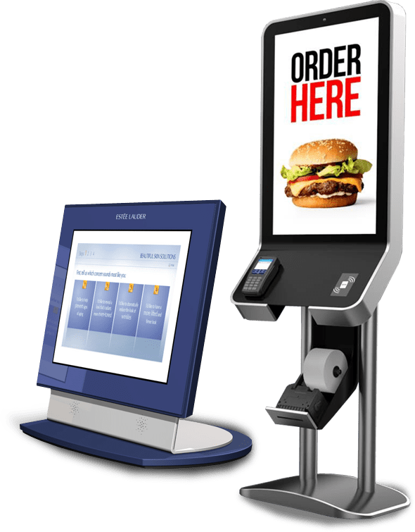 custom solutions kiosks